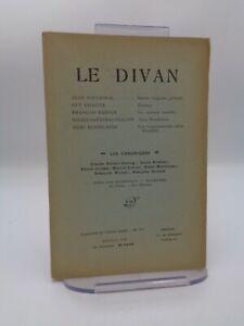 Revue LE DIVAN n°270 Stendhal Barrès ...