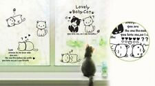 Happy Cat - Wall Decal Wall Art Removable Sticker