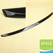 Rear Trunk Lip Spoiler Wing Painted Black Trim For VW Jetta MK6 12-17 Sedan New
