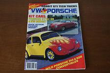 VW & Porsche Magazine February 1985 Kit Cars Rabbit GTI Tricks Porsche 914