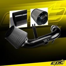 09-15 Lancer 2.4L 4cyl Automatic Black Cold Air Intake + Stainless Filter