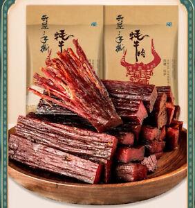 奇圣牛肉干Inner Mongolia consumes beef jerky Tibetan specialty snacks 168g × 2bgs