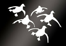 New Flying Ducks Landing Hunting Auto Car Sticker Waterfowl Graphic Vinyl Decals