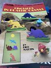 Dinosaurs in plastic canvas Leisure Arts Leaflet 1150 1988 Tissue Cover More