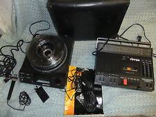 PROIETTORE per diapositive Kodak 4600 120 GIOSTRA & Tiffen PRO-CORDER System II 110 Volt