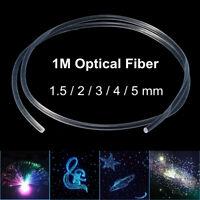 1M PMMA Side Glow Fiber Optic Cable Car light Lighting Decoration  AE CN