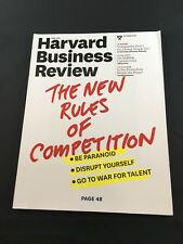 Harvard Business Review:  The New Rules of Competition (Oct 2015)