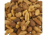 BBQ Blast Snack Mix - Almonds, Cashews, Peanuts Blasted with Barbecue Flavor