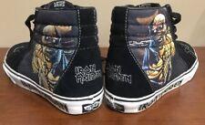 Vans Iron Maiden~Piece Of Mind hightop~ Skateboard Limited Edition, 2008 Men Sz8