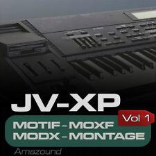 JV2080 XP80 SAMPLES for YAMAHA MOTIF ES XS XF MOXF MODX MONTAGE KEYMAPS READY
