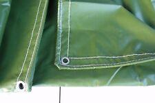 Quality PVC Tarp 2.1x2.7m(7'x9') 100% Waterproof Tarpaulin 510GSM Tear Stop New