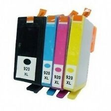 4 astillados Cartucho De Tinta Hp 920 Xl Officejet 6000 6500 6500 a 7000 7500a E609