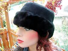 Fleecemütze mit Webpelz in 3 Farben Damenmützen WintermützenDamenhüte Anlasshüte