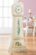 "Summer Country Whitewash Clock 32""H Home Decor"