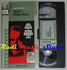 film VHS CACCIA A OTTOBRE ROSSO   CARTONATA CORRIERE DELLA SERA (F11 * )  no dvd