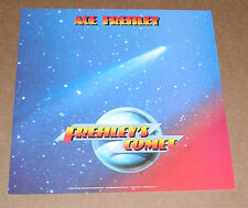 Ace Frehley Frehley's Comet 1987 Promo Poster Kiss 2-Sided Flat Square 12x12