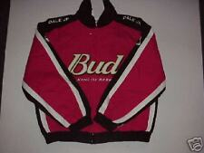 BRAND NEW WITH TAGS DALE EARNHARDTJR #8 BUSWEISER JACKET SIZE MEDIUM