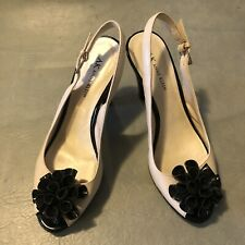 Anne Klein Open Toe Slingback  shoes size 9