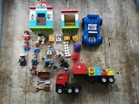 LEGO Duplo Bundle, Bricks, Vehicles, Figures and animals.
