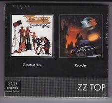 ZZ TOP - GREATEST HITS + RECYCLER - COFANETTO 2 CD - NUOVO E SIGILLATO