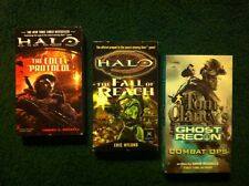 Halo Novels: The Cole Protocol/The Fall of Reach plus BONUS Ghost Recon