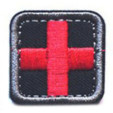 MEDIC CROSS SQUARE EMT EMS AIRSOFT TACTICAL MEDICAL USA ARMY PATCH SMALL