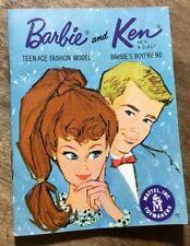 Barbie And Ken Mini Catalog Mattel Toymakers
