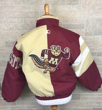 Vintage Starter Jacket Minnesota Gophers Spellout Pullover Puffy Big Logo Size S