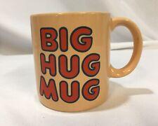 Vintage FTD Big Hug Mug True Detective HBO Peach McConaughey