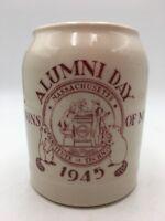 Vintage 1945 MIT ALUMNI DAY Coffee Beer MUG STEIN Ivory WALKER USA