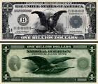 BILLET ONE BILLION DOLLAR US ! Collection Etats Unis 1 MILLIARD Monnaie Million