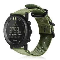 For Suunto Core Smart Watch Band Nylon Woven Wristband Wrist Strap Replacement