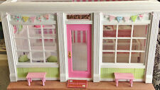 1:12 Miniature Bakery Shop W/ Shelves, Bakery Cases, Pink Kitchen, OOAK, Resale