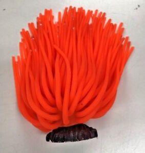 Top Fin® Orange Anemone Aquarium/ Fish Tank Ornament Decor Large  5255253