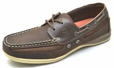 Salt Life Deck BOAT SHOE Brown Men's Size 8 New With Box LEATHER Casual MSRP $80
