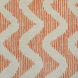 Blithfield - Colebrook - Coral On Natural - Fabric - 44cm x 134cm - Face Masks