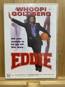 Eddie (DVD, 2005) Region 4 Rare Whoopi Goldberg