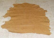 (ZWE7712-4) Hide of Light Brown Sheepskin Leather Hide Skin