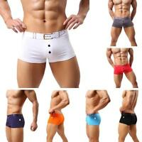 Fashion Men Sexy Underwear Boxer Briefs Short U Convex Bulge Pouch Underpant