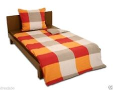 Markenlose karierte Bettwäschegarnituren für 60 ° - Wäsche
