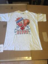 New Vintage Chicago Bulls Shirt 18-20 Xl Youth 1992 World Champs Back 2 Back