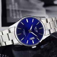 Mens Luxury Stainless Steel Band Date Analog Quartz Sports Wrist Watch Best