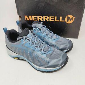 Merrell Women's Siren Edge 3 Hiking Walking Shoes Size 8 W Bluestone J034434W