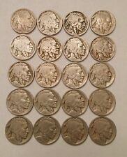 20 Buffalo Nickels -
