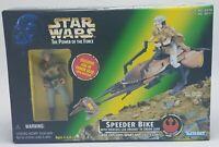 Star Wars POTF; Speeder Bike with Leia in Endor Gear: 1997 Kenner  New
