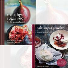 Salt Sugar Smoke & Roast Figs, Sugar Snow 2 Books Collection Set by Diana Henry