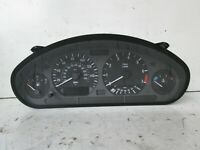 BMW E36 328 6 cylinder speedo instrument cluster working fits 320 323 328 163k