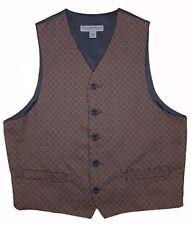 STRUCTURE Vest WAISTCOAT Multicolor MEDIUM Mens PROM Wedding GEOMETRIC Size DJ**