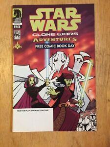 Star Wars Clone Wars Adventures FCBD - 2004 - 1st App General Grievous