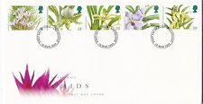 GB 1993 Orchids FDC unadressed Eastbourne CDS with enclosure VGC